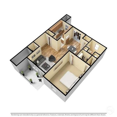 The Abington Floor Plan 1