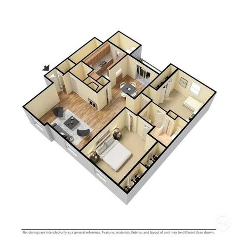 The Brighton Deluxe Floor Plan 3