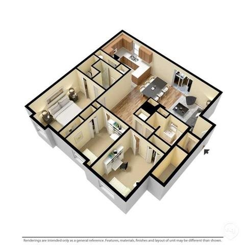 The Chelsea Floor Plan 4