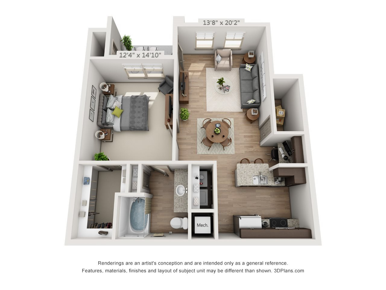 Evangeline with Covered Parking Floor Plan 3