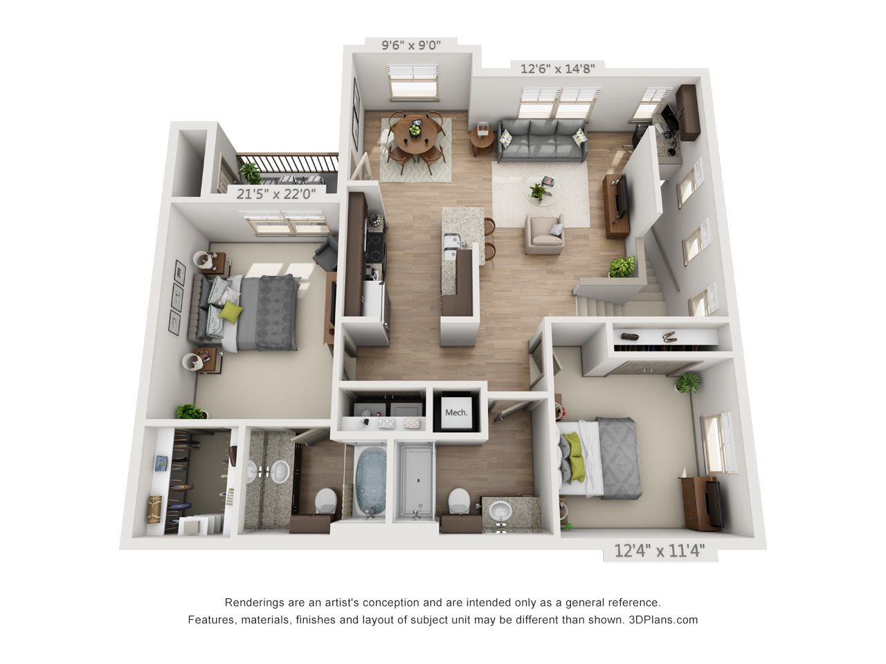 Orleans with Single Car Garage Floor Plan 6