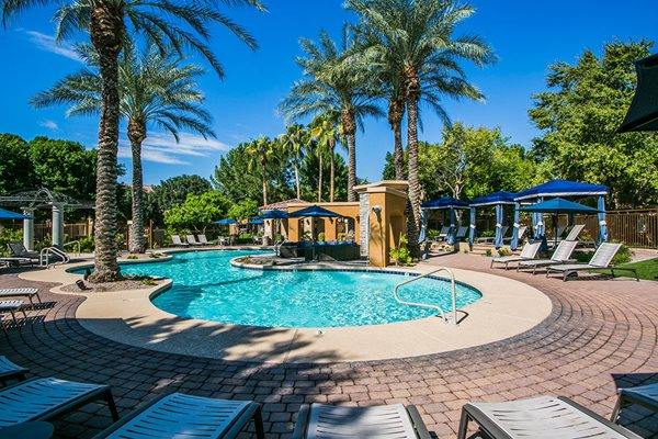 Avondale AZ Apartments with Lagoon Style Pool & Private Cabanas