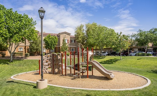 Apartments Near Phoenix with Children's Playground and Jungle Gym