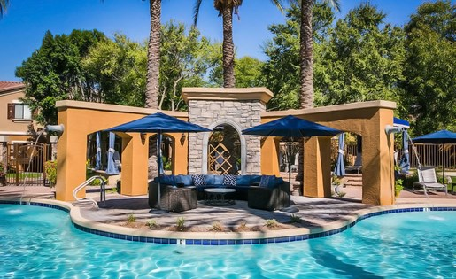 Avondale AZ Apartments with Pool Lounge Area