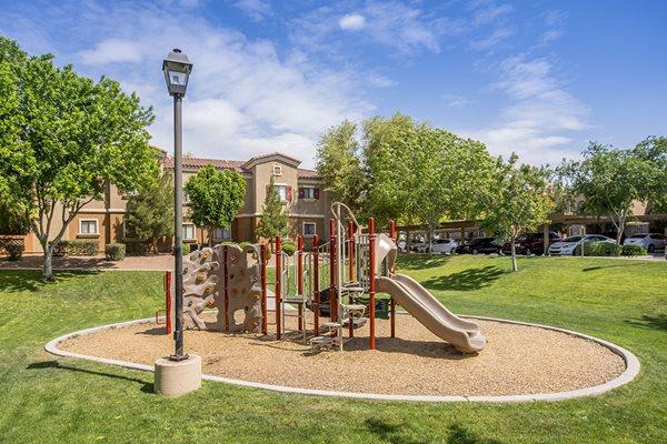 Avondale Arizona Apartments with Children's Playground and Jungle Gym