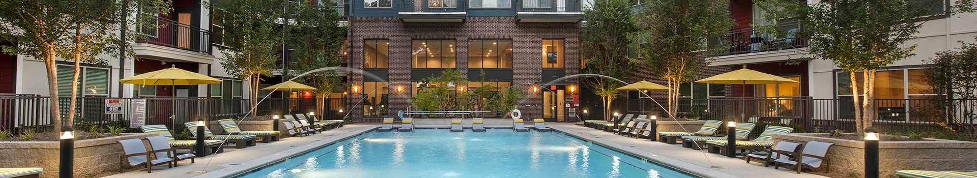 Banner Image of Apartment Pool in Vinings GA