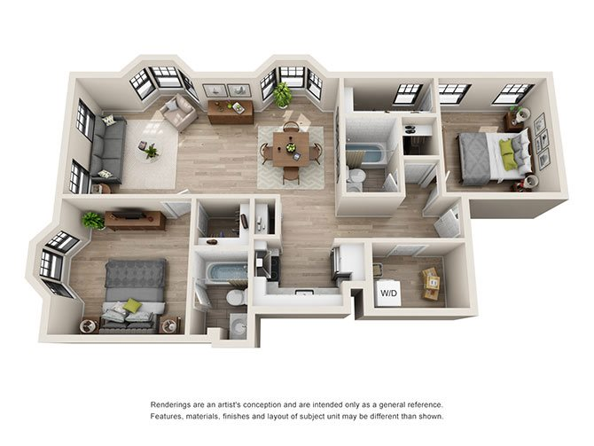 Roanoke Floor Plan 5