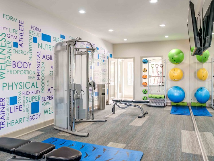 Apartments in Las Vegas - Cimarron Apartments Fully Equipped Fitness Room