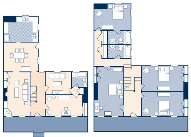 Coren Apartments 2521 Floor Plan 2