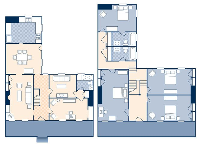 Coren Apartments 2545 Floor Plan 3