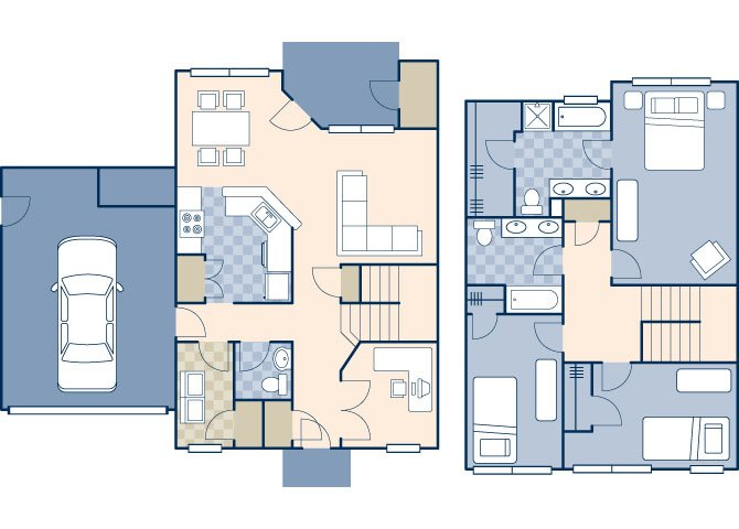 Heritage Heights 2000 Floor Plan 14