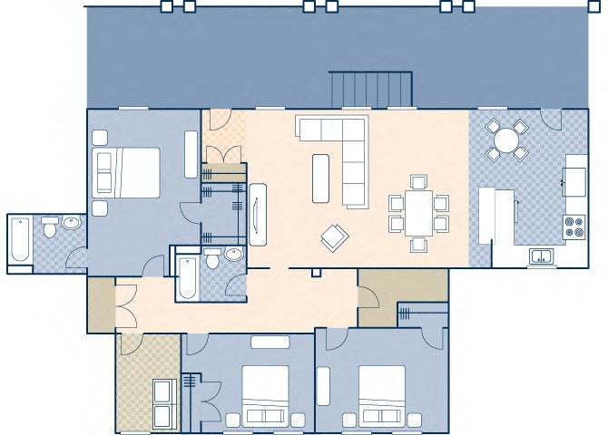Young Hall 1868 B Floor Plan 27