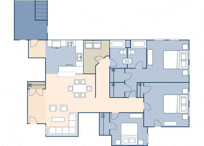 Young Hall 2105 Floor Plan 35