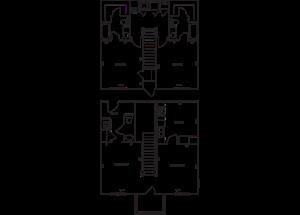 Dual Level 2x2.5 1324 SF