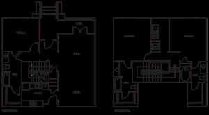 Loft 3x3 1444-1894 SF