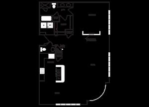 Loft 0x1.5 1285 SF