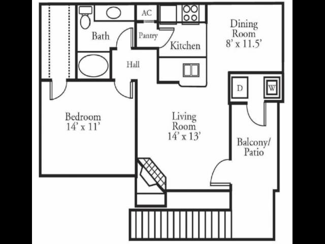 THE SORRENTO Floor Plan 1