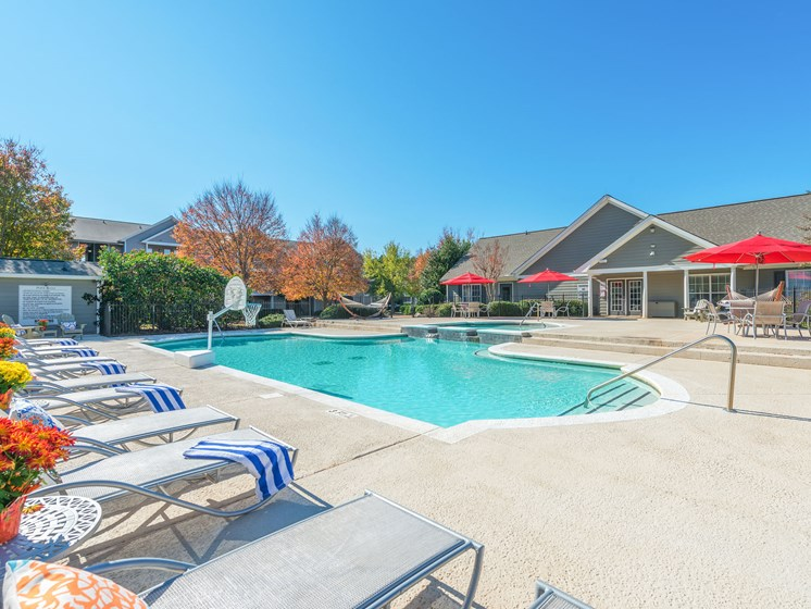 Picturesque Pool Setting at Echelon Park, McDonough, 30253