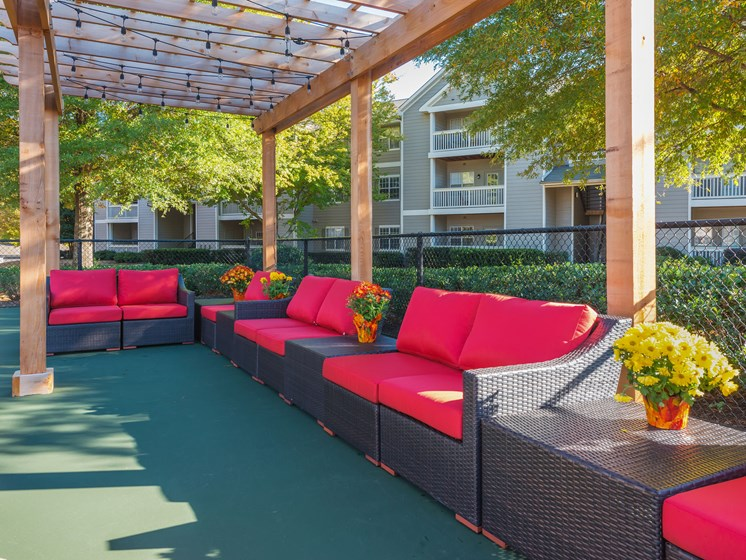 Outdoor Social Area at Echelon Park, McDonough, GA, 30253