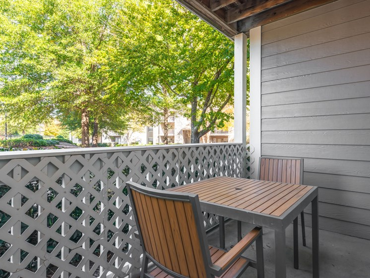 Private Balcony at Echelon Park, McDonough, GA, 30253