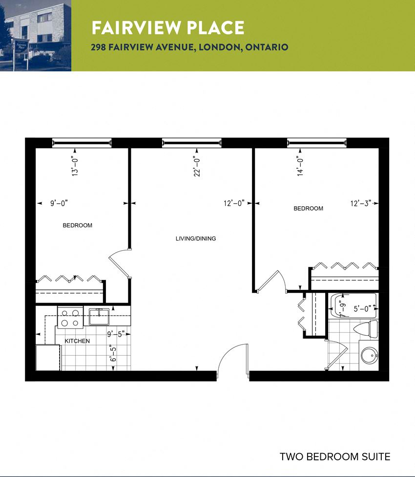 Fairview Place 2 Bedroom