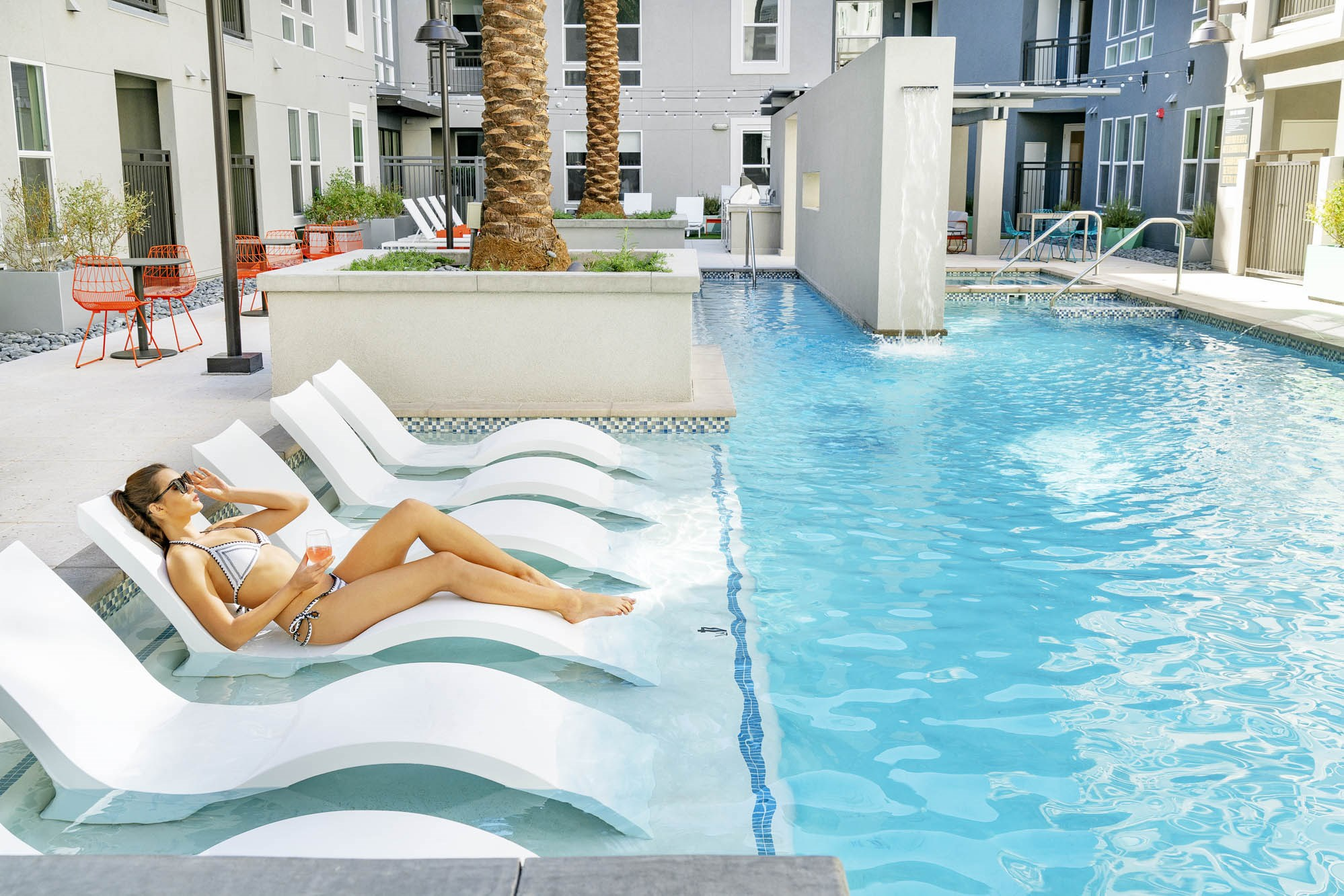 In-Pool Loungers