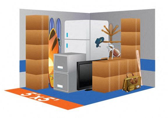 5 x 5 Storage Unit