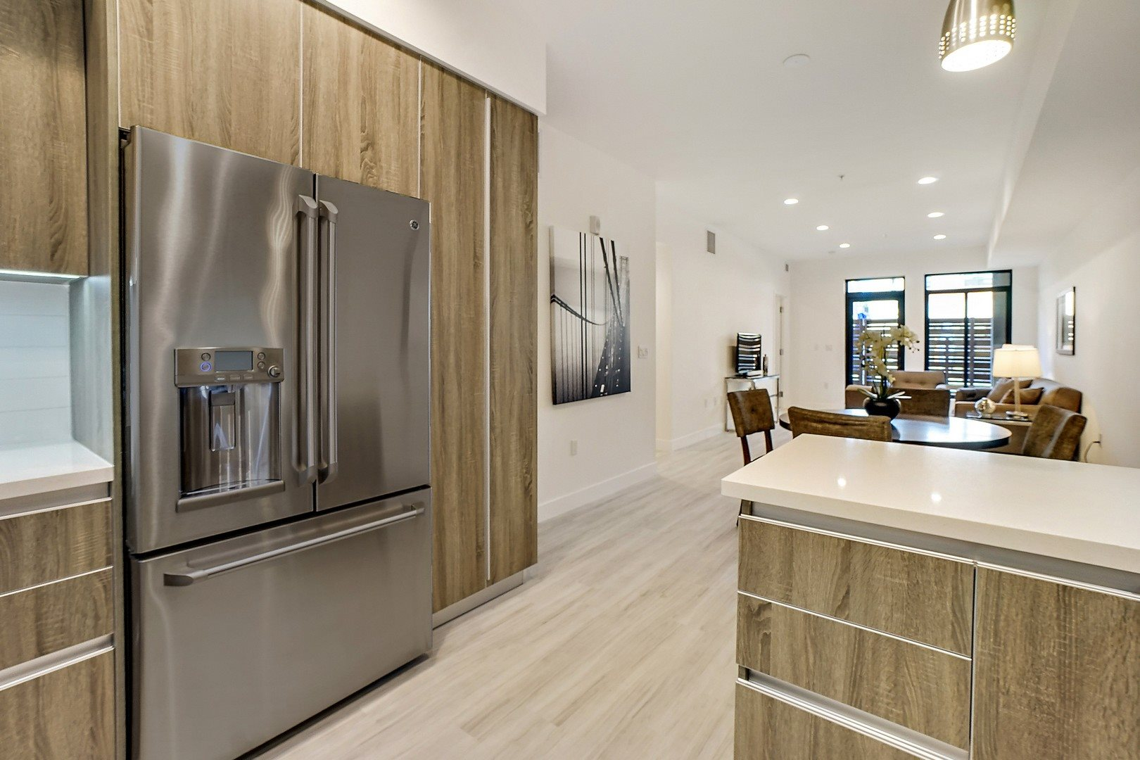 Luxury Lofts in Tarzana CA - The Residences at Village Walk Kitchen