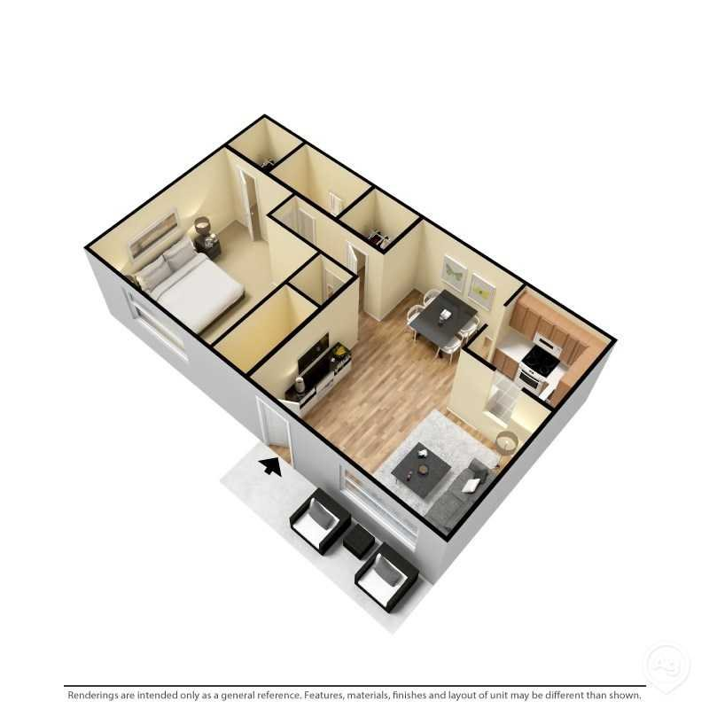 The Bradford Floor Plan 1