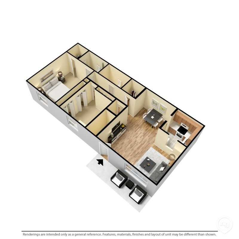 The Cambridge Floor Plan 2