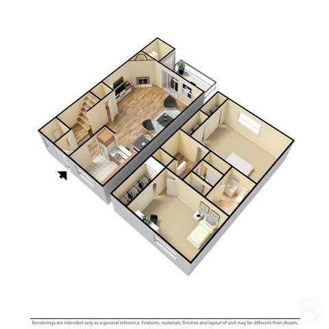 The Chelsea Floor Plan 1