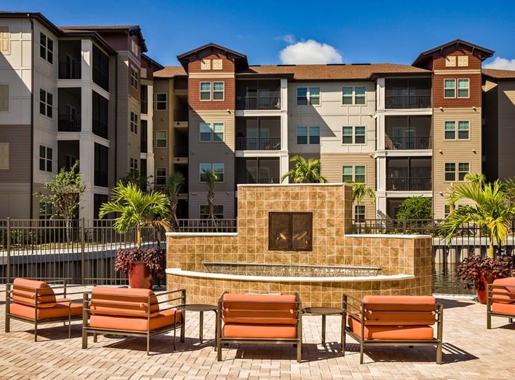 The Boulevard Apartments Largo Florida Fire Pit