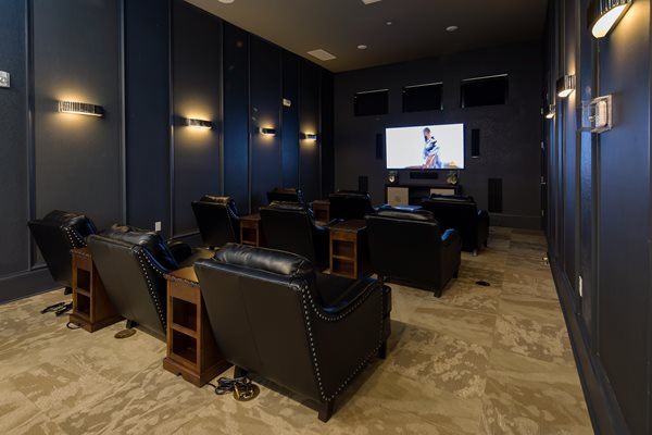 The Boulevard Apartments - Largo, FL  - Theater Room