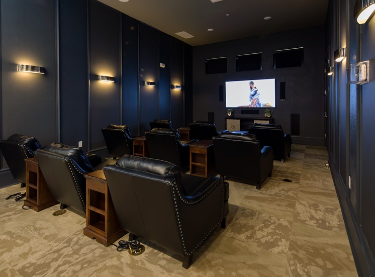 The Boulevard Apartments Largo Florida Theater Room