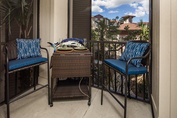 The Boulevard Apartments - Largo, FL - Patio