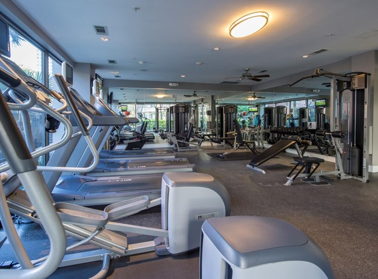 fitness center apartments in upper kirby