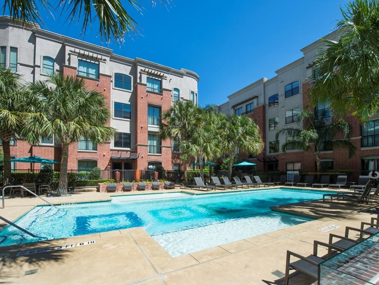 pool apartments in upper kirby
