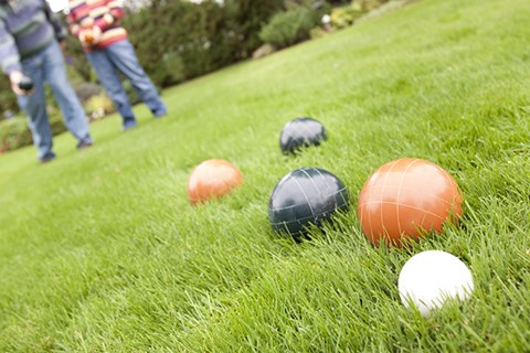 Enjoy at Bocce Ball Court at Pinyon Pointe, Colorado
