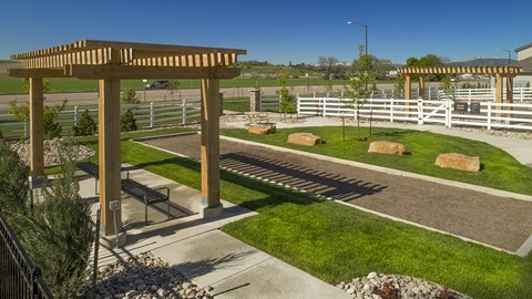 Bocce Ball Court at Pinyon Pointe, Colorado, 80537