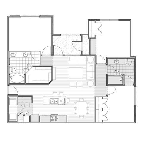 Floor plan at Faudree Ranch, 2741 Faudree Road, Odessa