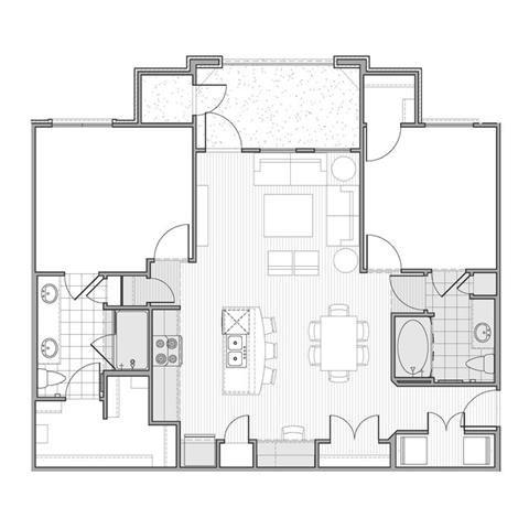 Floor plan at Faudree Ranch, 2741 Faudree Road, TX 79765