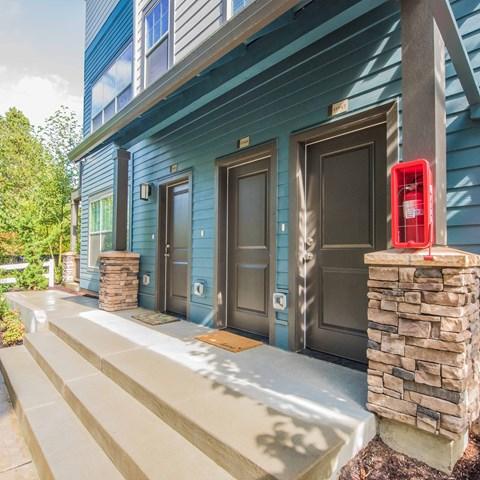 Apt doors Happy Valley, OR Apt home for rent Latitude Apts