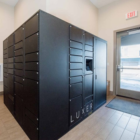 Package Lockers Apts For Rent in Happy Valley, OR at Latitude
