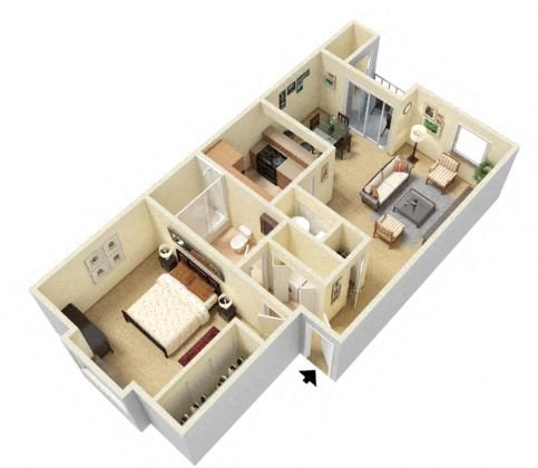 One, Two, and Three Bedroom Apartments in Reno Nevada