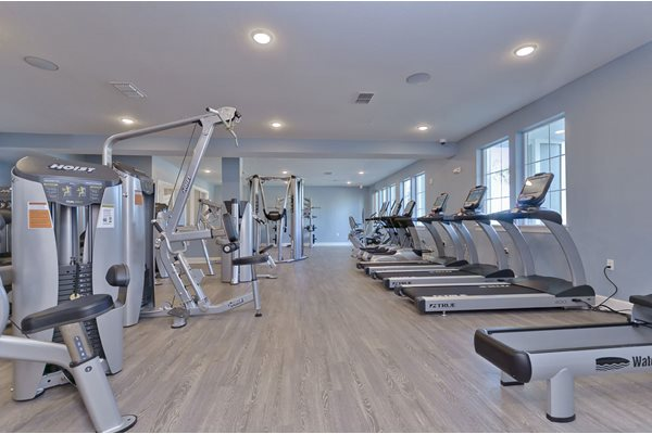Charleston on 66th Fitness Center with Fitness On Demand