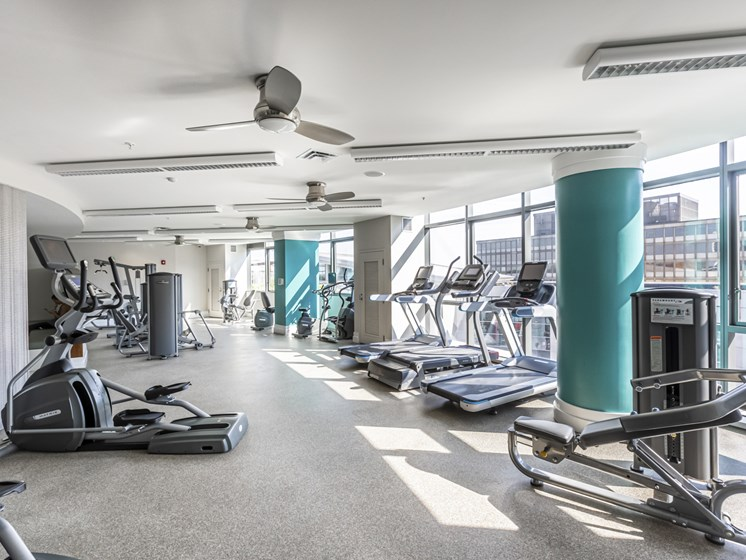 NoBe Market Apartments fitness center