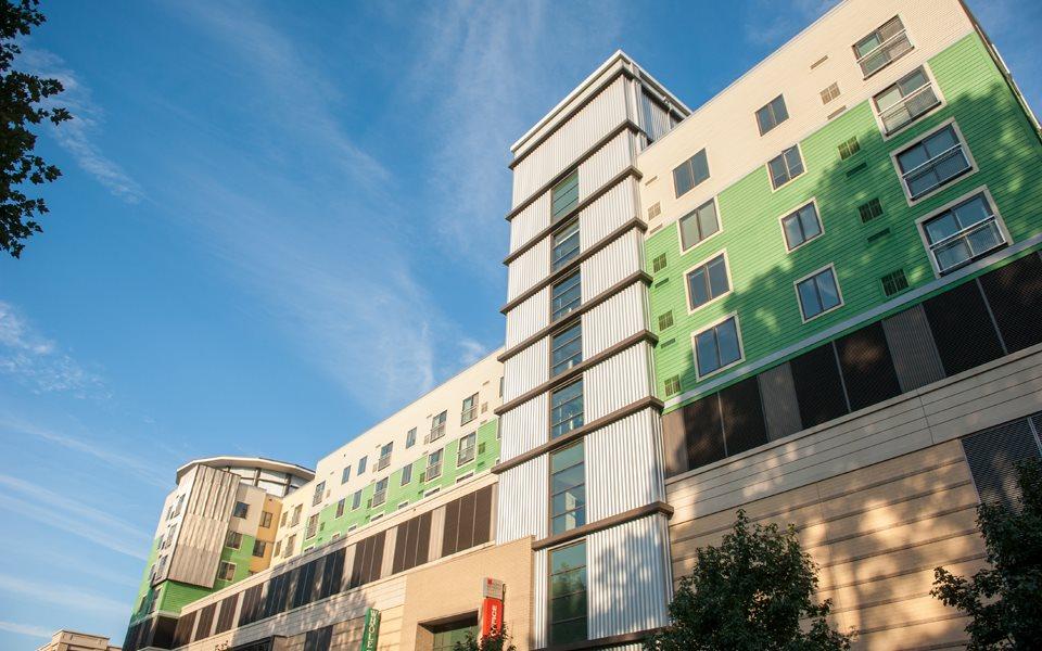NoBe Building Westside Facade