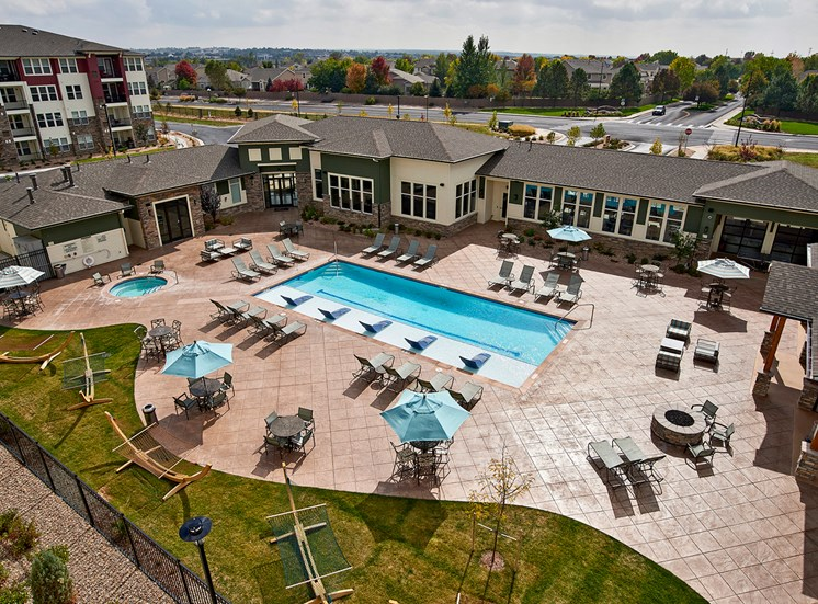 Enclave at Cherry Creek - Resort-style, heated saltwater pool and spa
