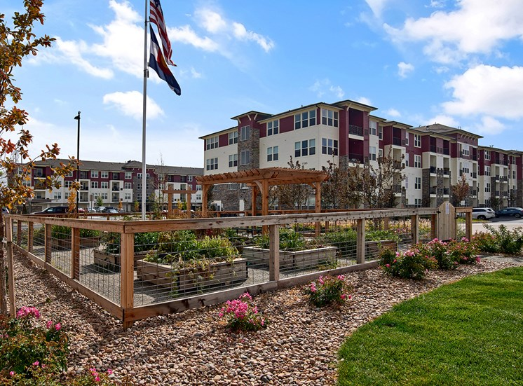 Enclave at Cherry Creek - Community garden