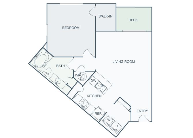 Perimeter Gardens at Georgetown - Element - 1 bedroom - 1 bath